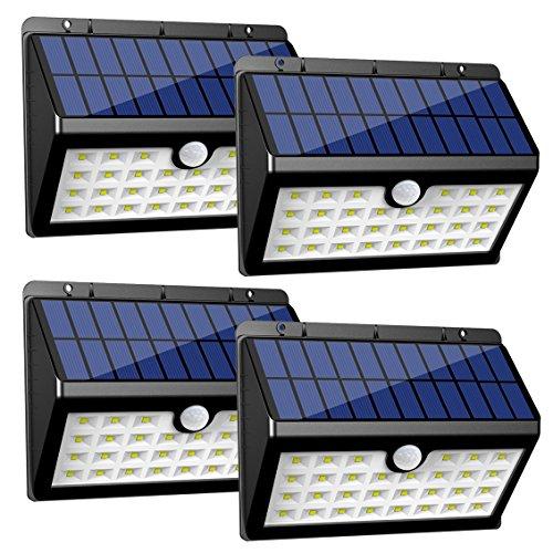 InnoGear 3rd Generation Motion Sensor Solar Lights Outdoor ...