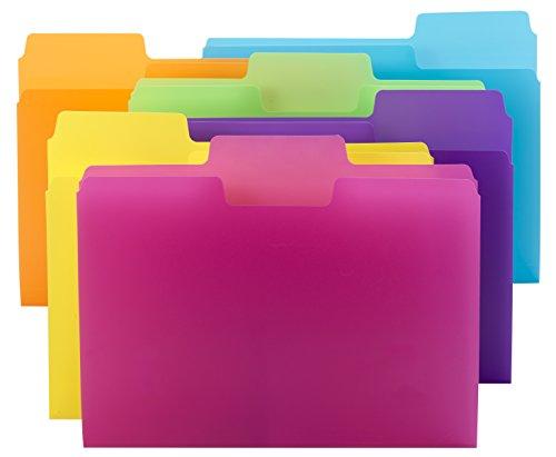 Smead Supertab File Folder 1 3 Cut Tab Letter Size Poly