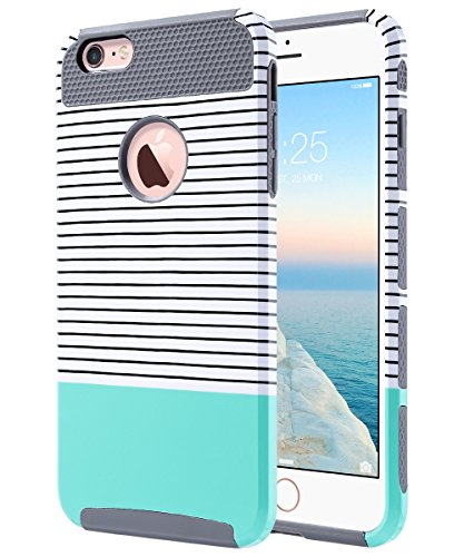 Stylish slim modern design; colorful fashion protective iPhone 6/6S Plus case; Note: please do not remove the TPU rubber ...