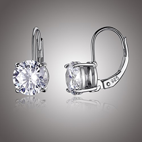 15c2c8b38 Cubic zirconia cz is an affordable, conflict-free alternative to diamond  that reveals brilliant shine and a meticulous cut. Leverback earrings  featuring ...