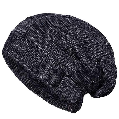 d620238011fc7 LETHMIK Winter Long Slouchy Beanie Unique Mix Knit Ski Cap Hat ...